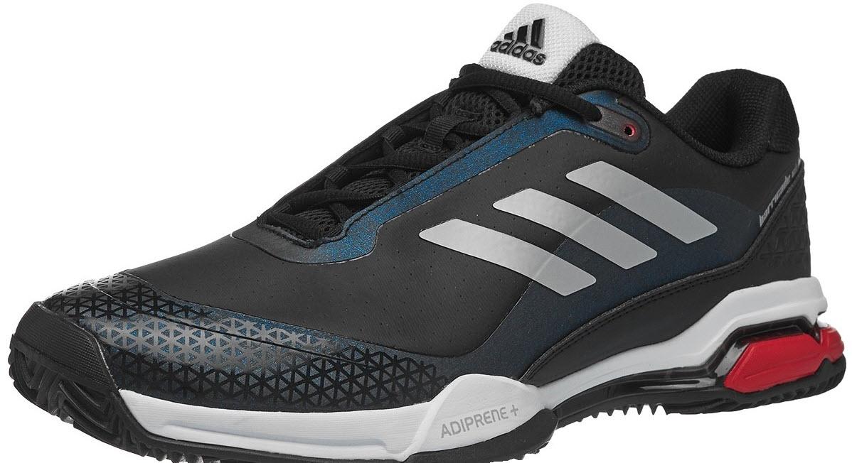 Кроссовки Adidas Barricade Club Clay Court BlackWhiteRed